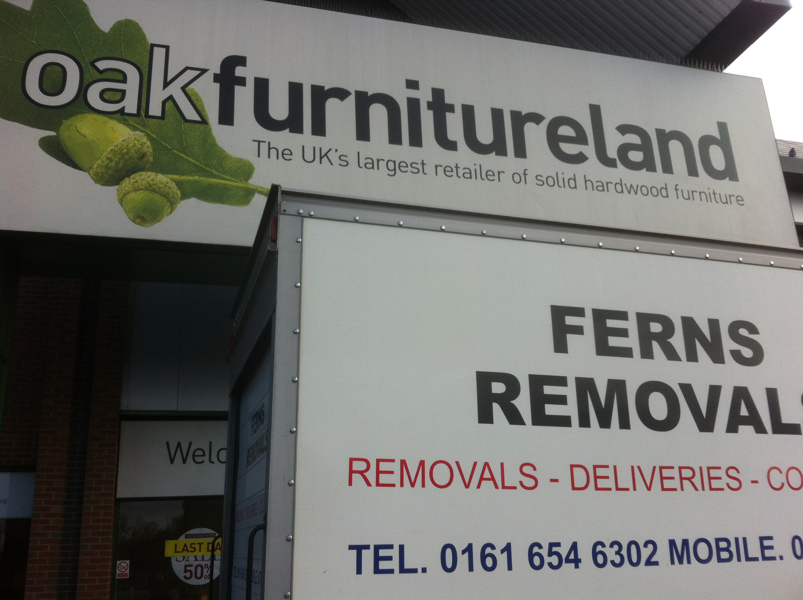 Removals Newton Heath